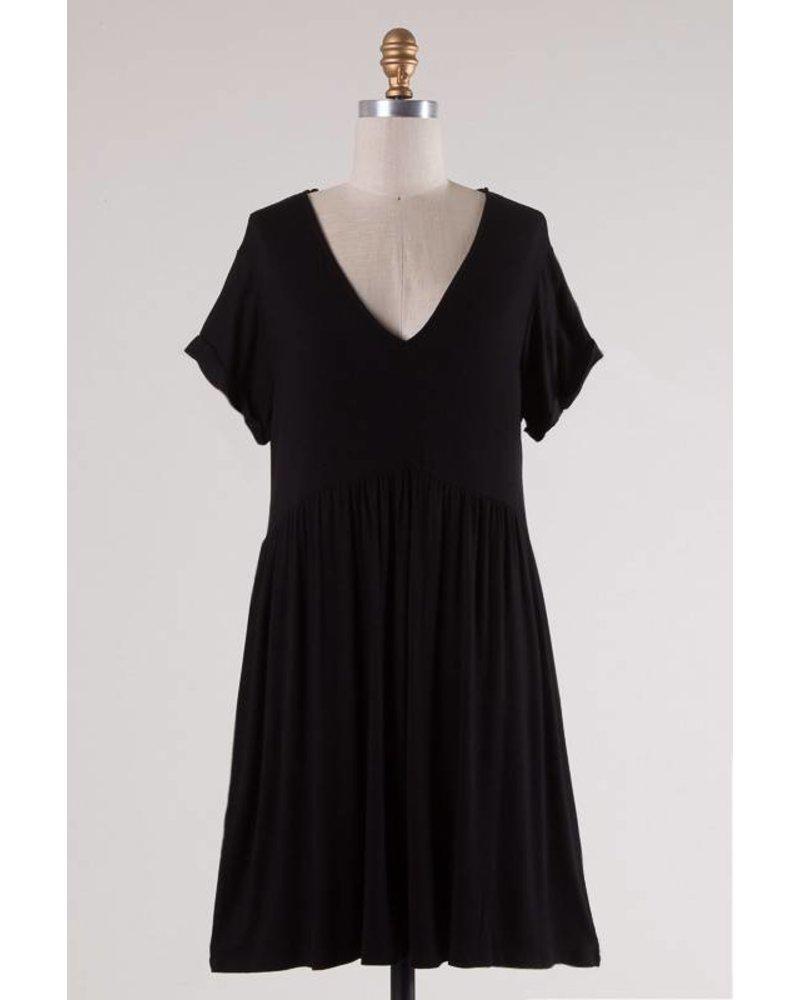 Augie Black Dress