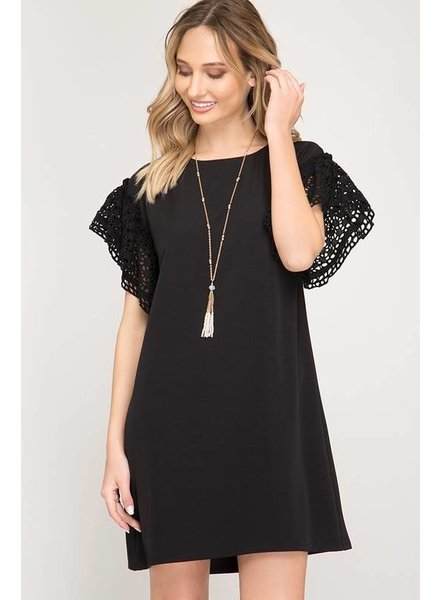 Pepper Black Dress