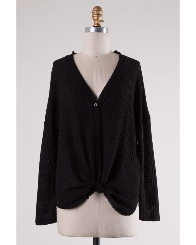 Cape Cod Black Knit