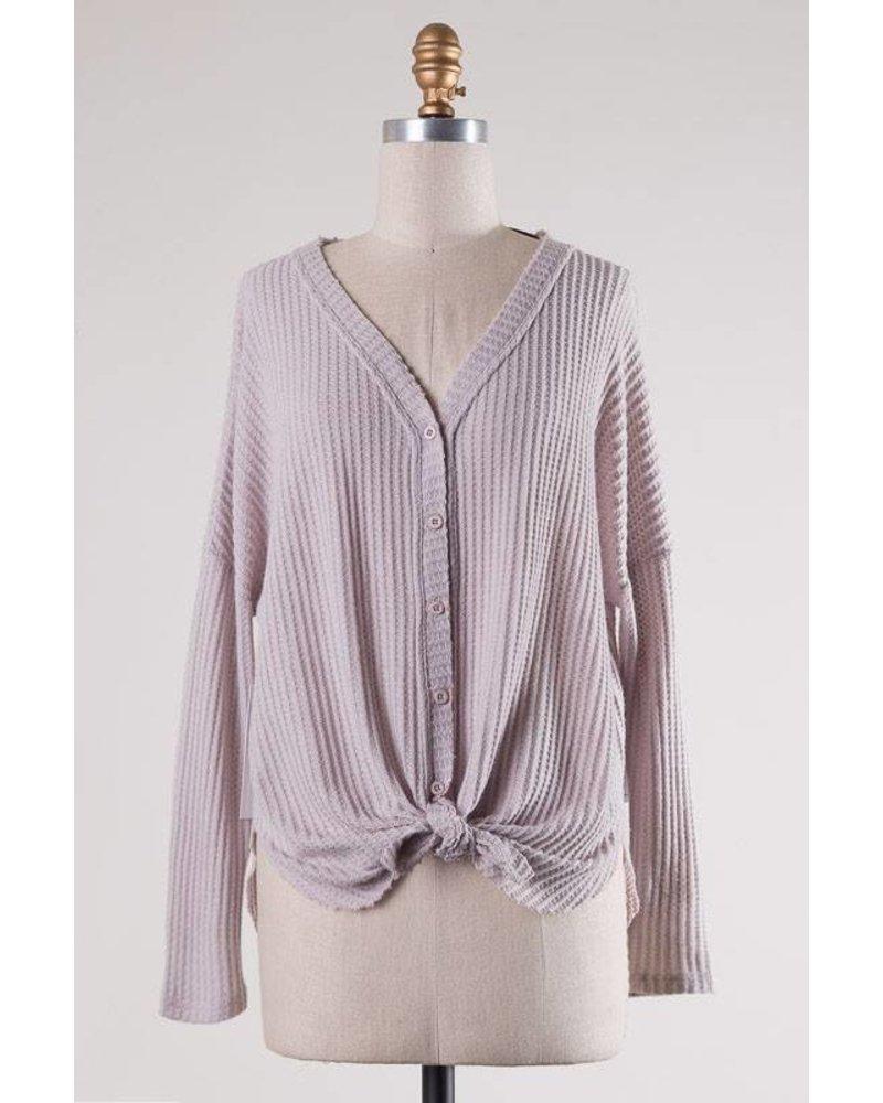 Cape Cod Stone Lilac Knit
