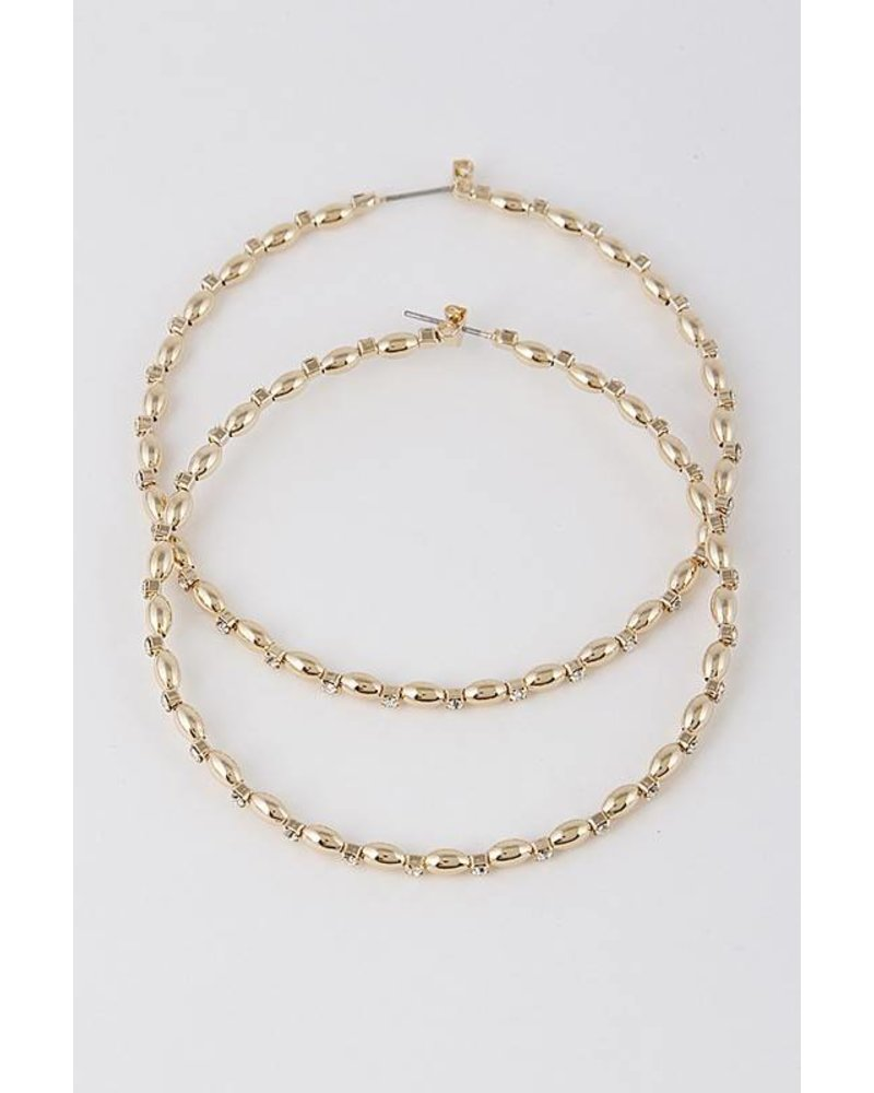 Possibility Gold Hoop