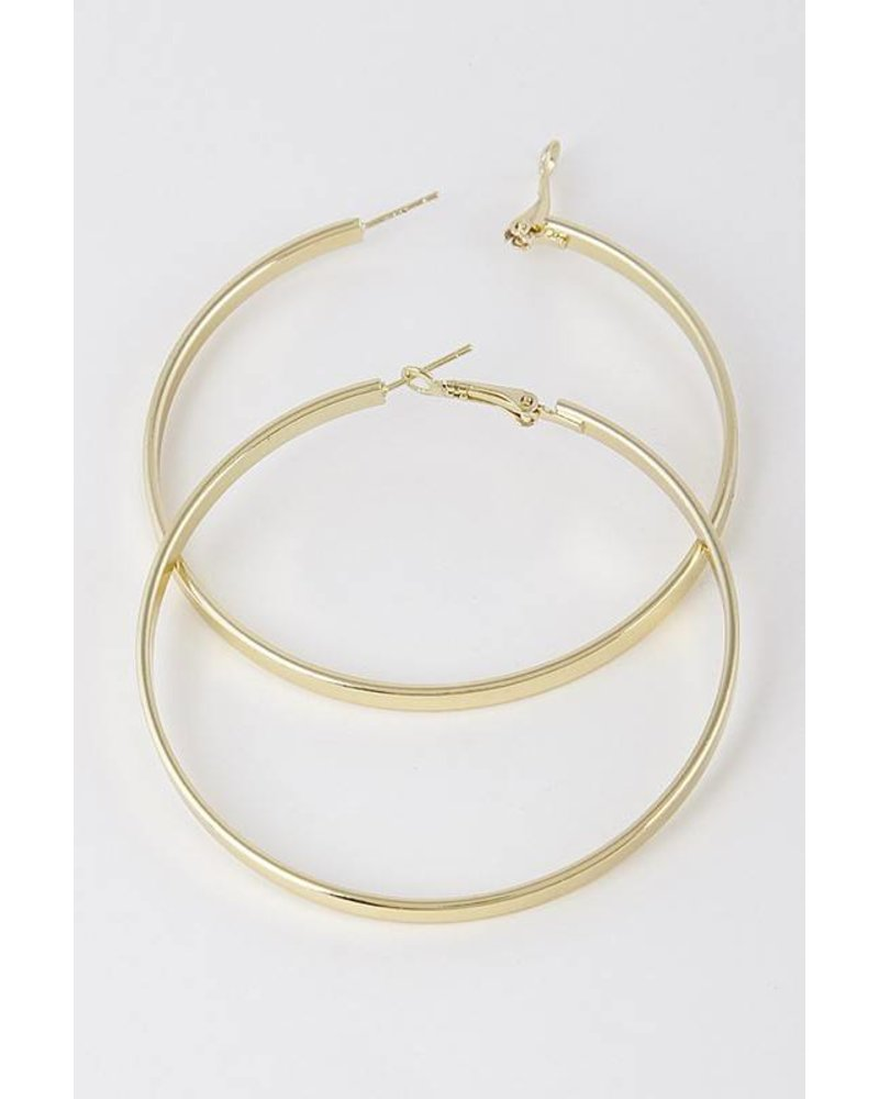 Finest Hour Gold Hoop