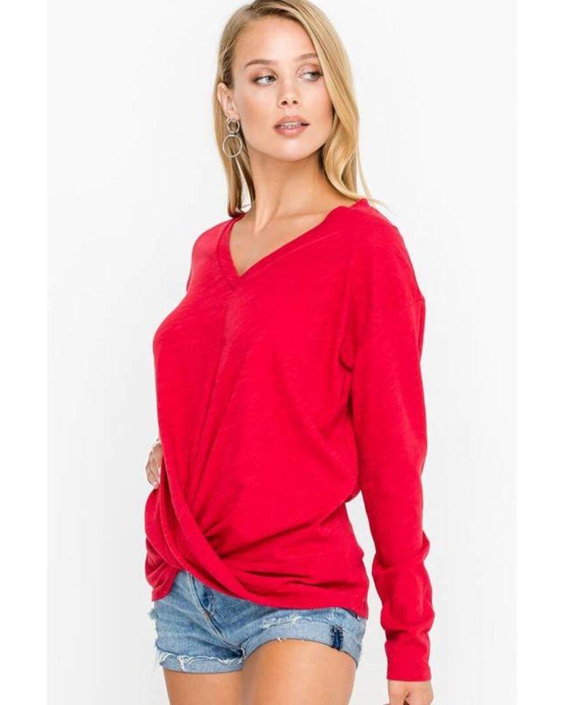 Chili Pepper Sweater Top