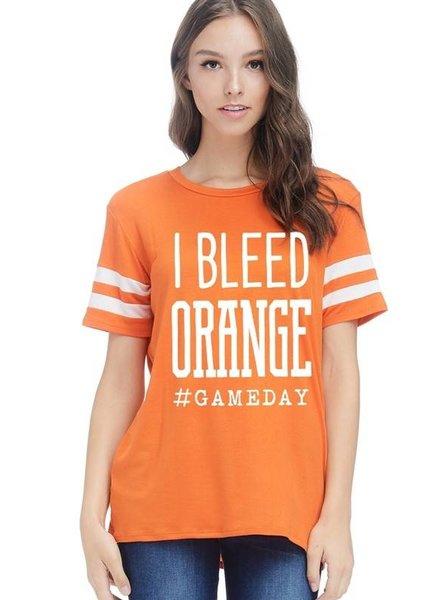Bleed Orange Tee