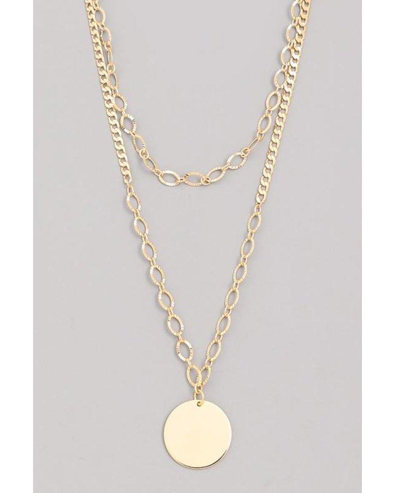 Lo Layered Choker Necklace
