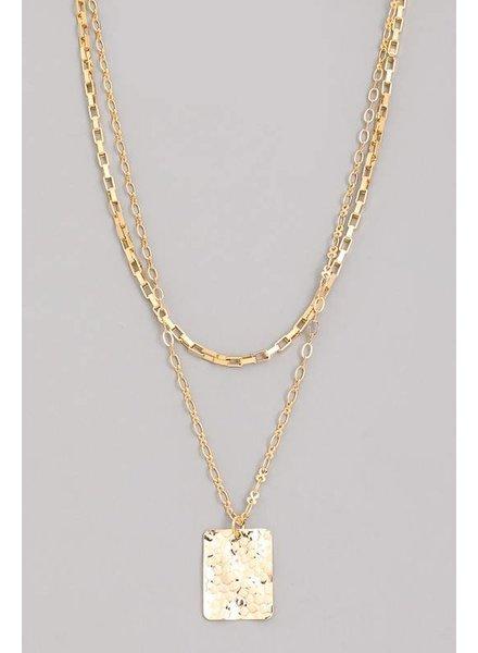 Gigi Layered Choker Necklace