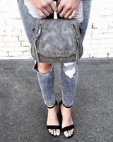 Rockland Charcoal Handbag