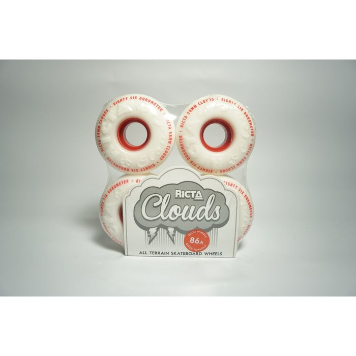Clouds 58mm 86a Red