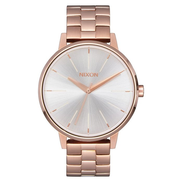 Nixon - Kensington Rose Gold/White