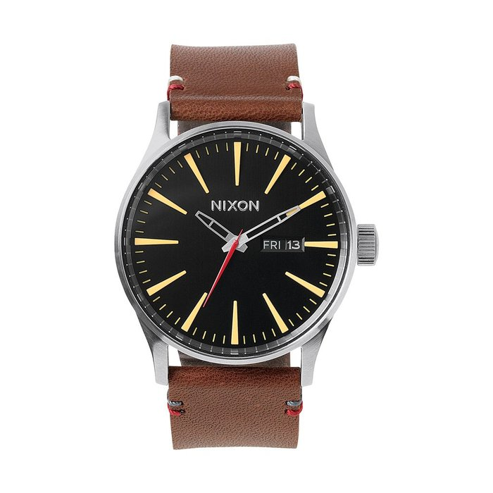 Nixon - Sentry leather black/brown