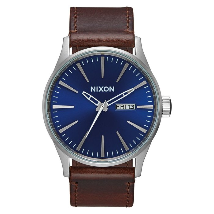 Nixon - Sentry leather blue/brown