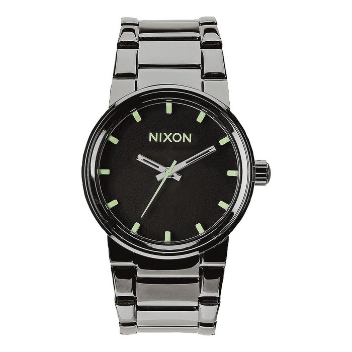 Nixon - Cannon Polished Gunmetal/Lum