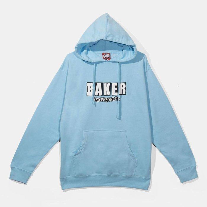 BAKER - Brand Logo LT BLU Pullover