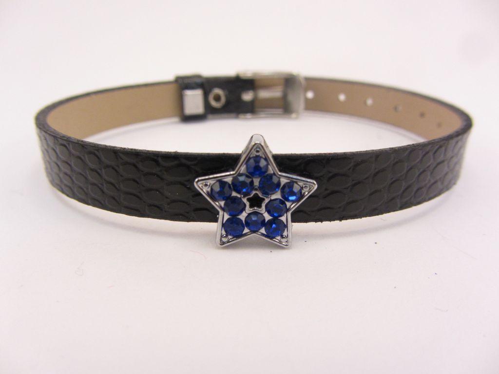 Blue Star Charm