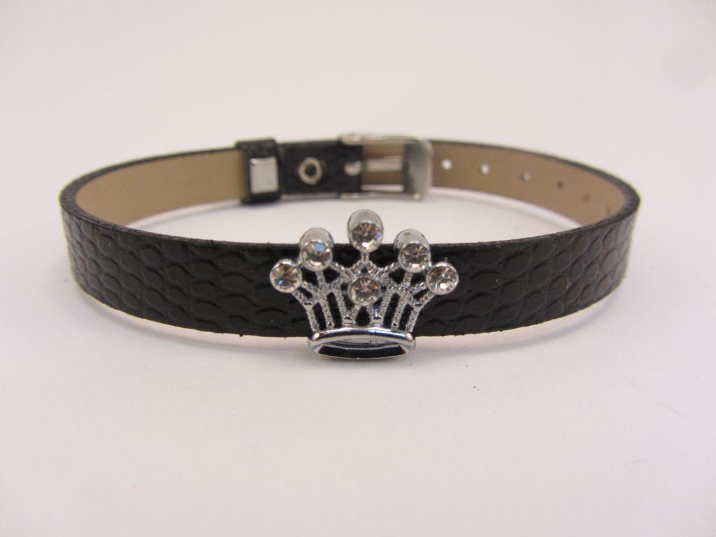 Clear Crown Charm