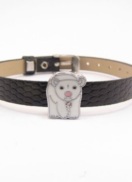 Sliding Charm Polar Bear
