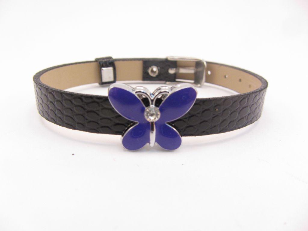 Purple Butterfly Charm