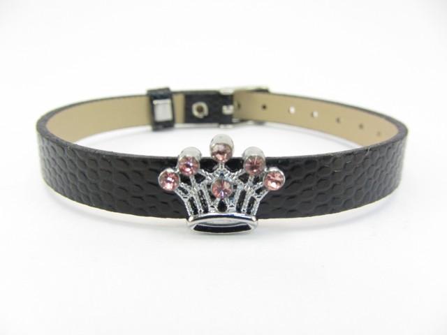 Pink Crown Charm