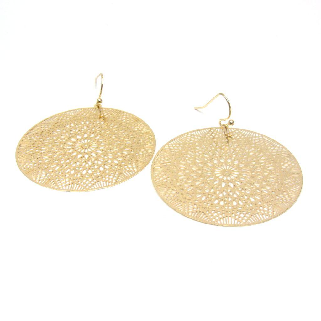 Lightweight Metal Earrings