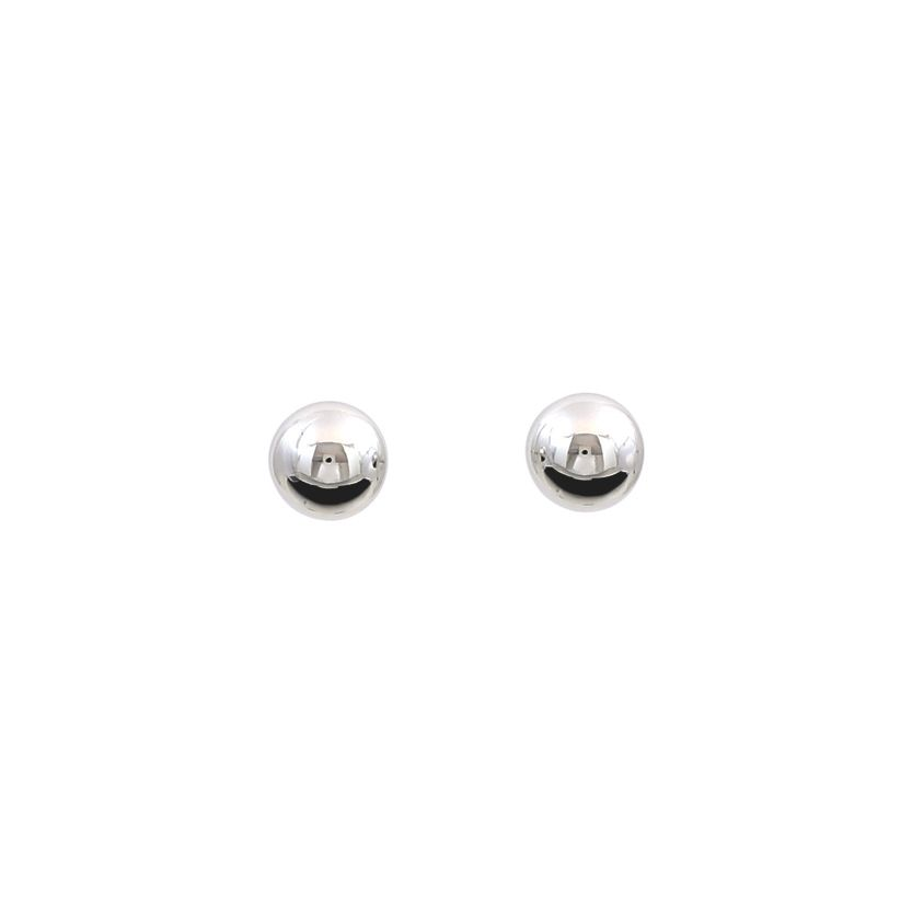 8mm Silver Ball Stud