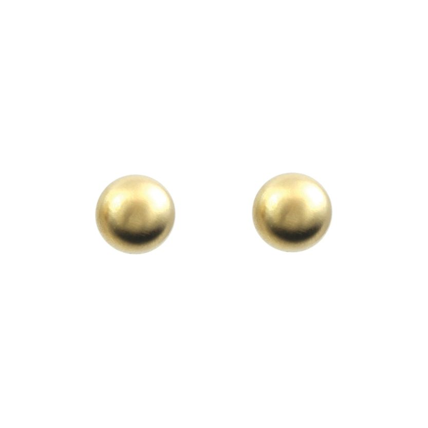 10mm Matte Gold Ball Stud