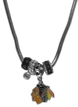 Euro Style Black Hawks Necklace