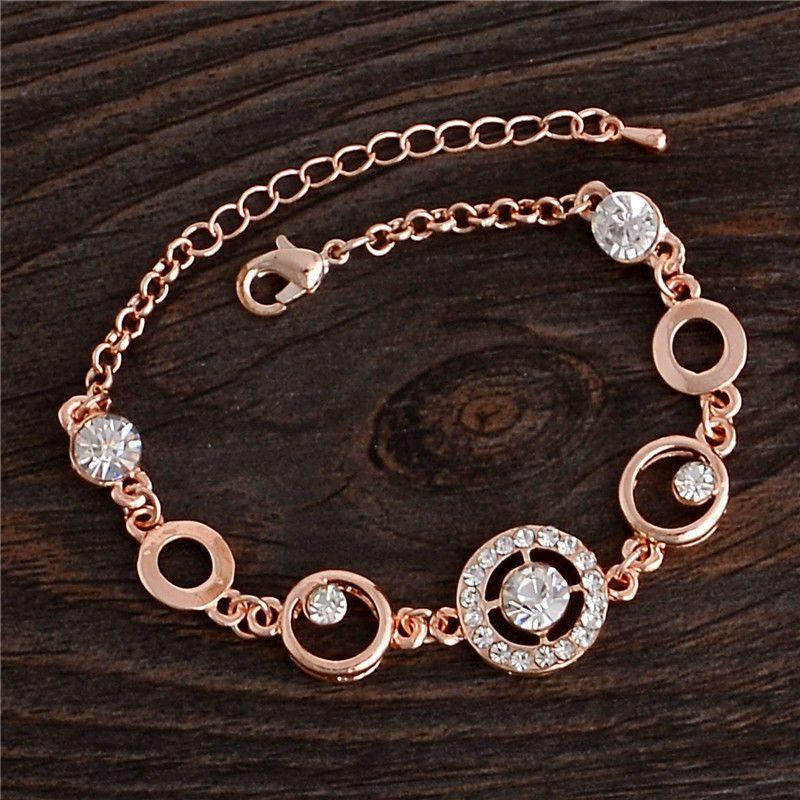 Circle CZ Bracelet