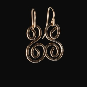 Something Charming Gold S Hanging Earring