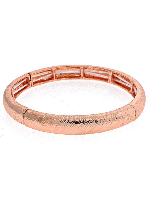 Rose Gold Stretchy Bracelet
