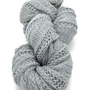 Light Grey Winter Knit Infinity Scarf