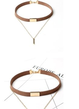 Choker Necklace 2 in 1