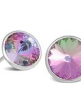 Earrings stud-Light Violet
