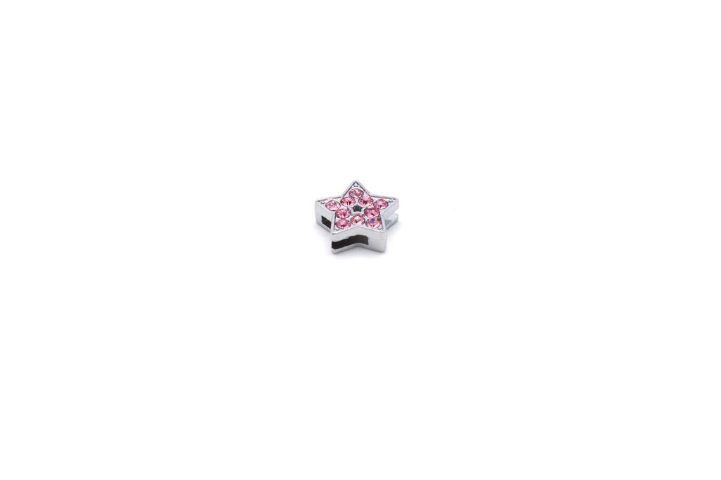 Light Pink Star Charm