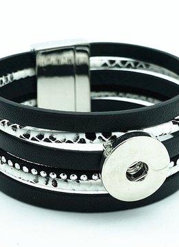 Snap Magnetic Bracelet-Black