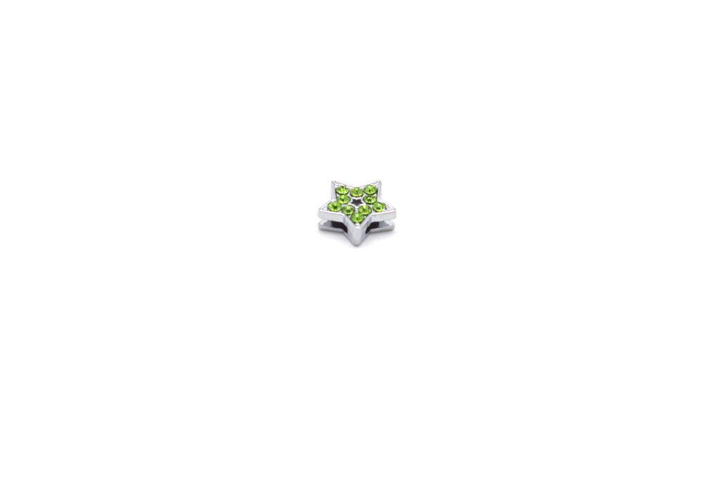 Green Star Charm