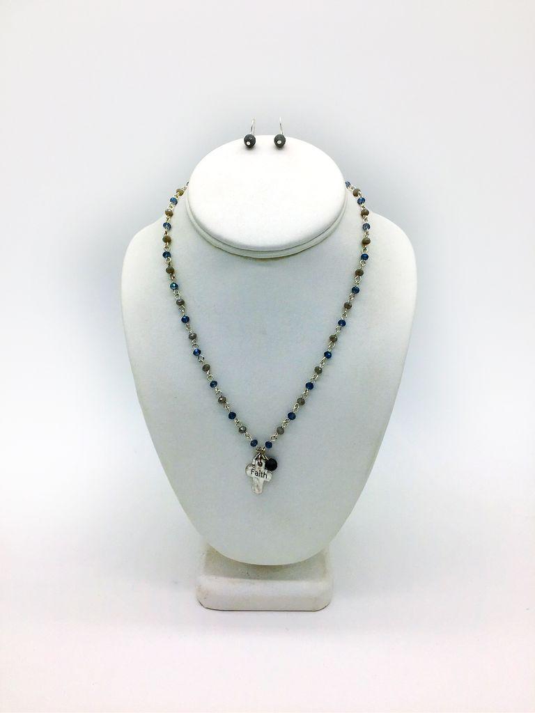 Faith Bead Necklace