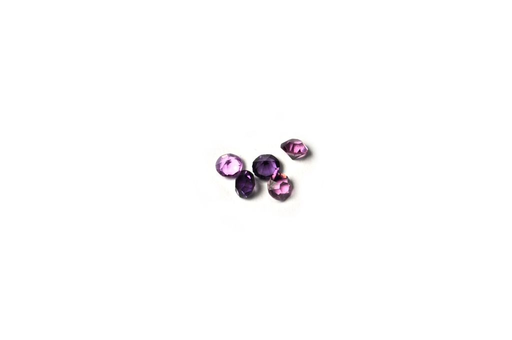 Purple Birthstone Floating Charm