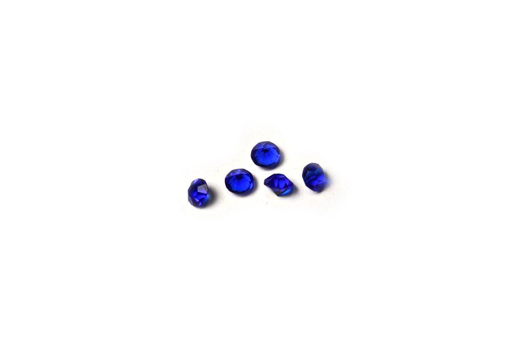Dark Blue Birthstone Floating Charm