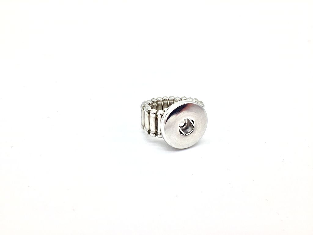 Silver Stretch Snap Ring