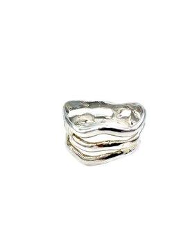 Gold Wave Hawaiian Ring