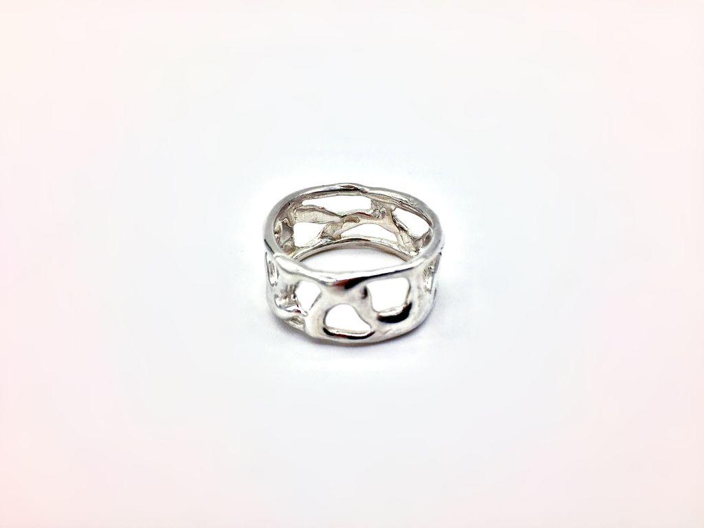 Golden Hawaiian Lava Ring