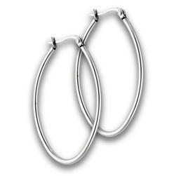 Stainless Steel Earring hoops 3mm x 30mm