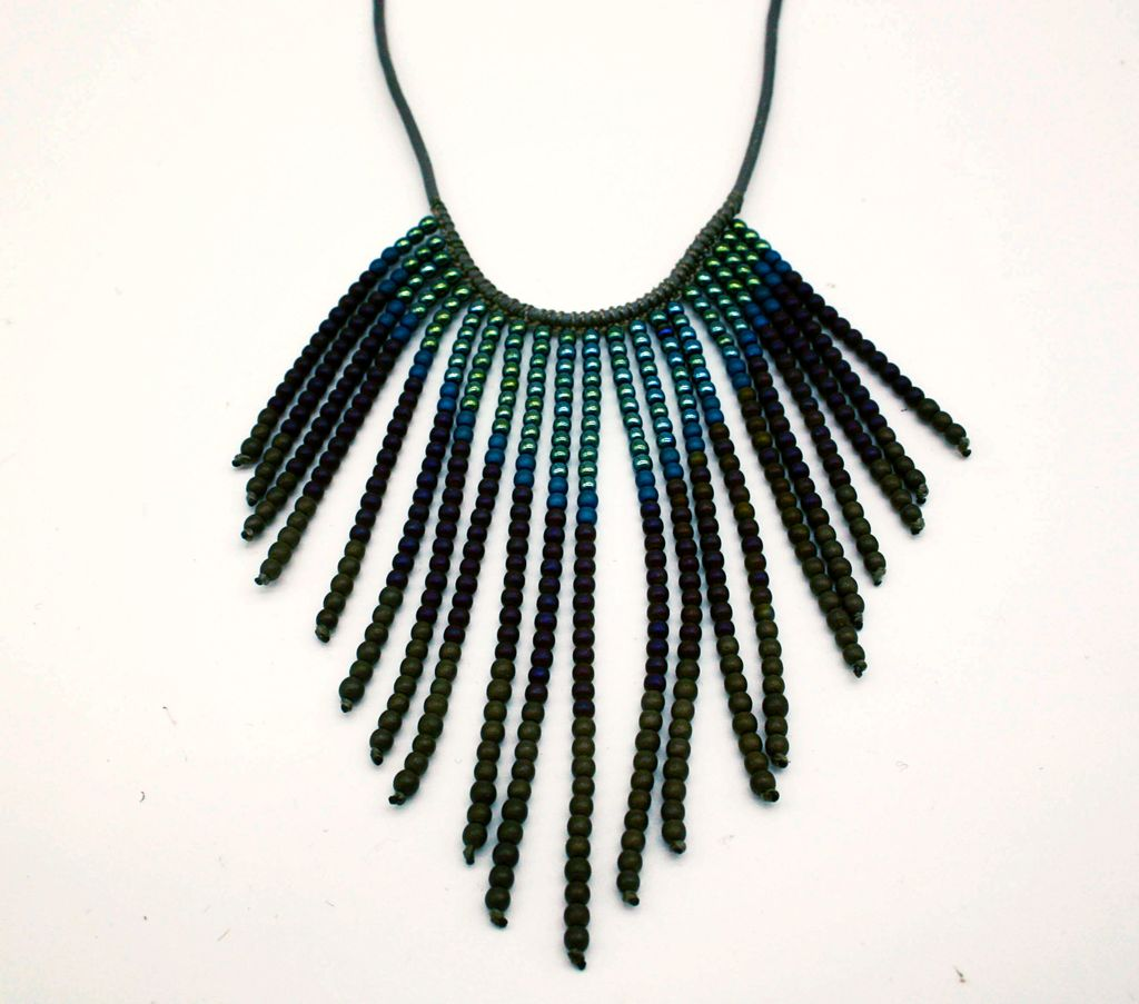 Hematite Boho Necklace