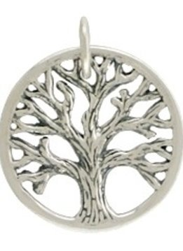 Tree of Life Sterling Charm