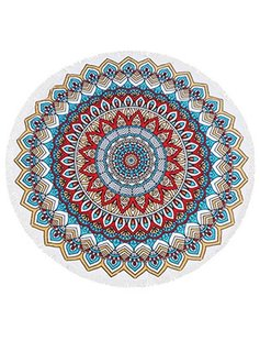 Rounded Beach Towel