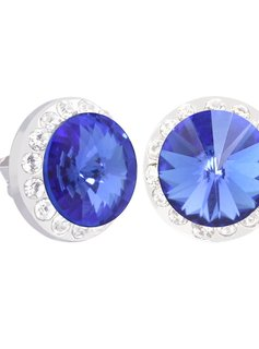 Lifestone Swarowski Halo Stud Earrings