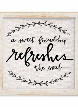 A Sweet Friendship Refreshes