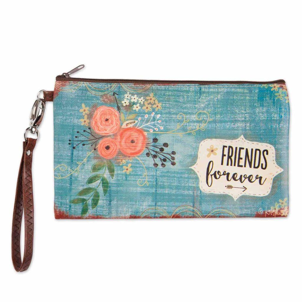 Friends Forever Zippered Bag