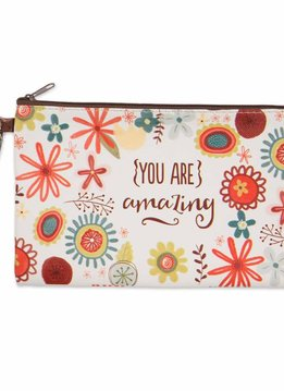 You Are Amazing Zippered Bag