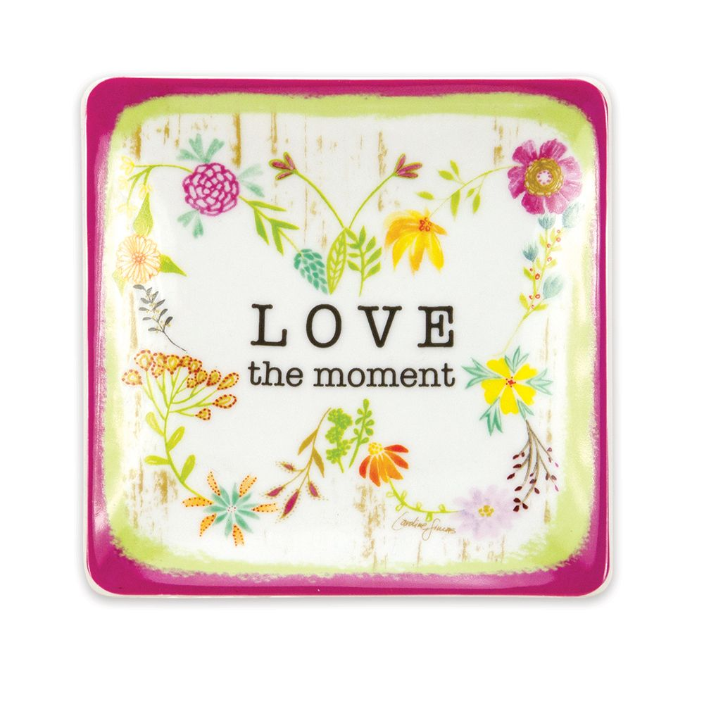 Love The Moment Trinket Tray